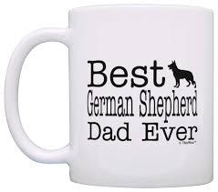 dog mug best german shepherd dad ever dog puppy supplies coffee