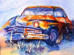 188 best old cars u0026 trucks paintings images on pinterest