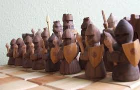 having a decorative chess set as a room decoration www nicespace me