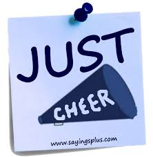 great cheer sayings and slogans