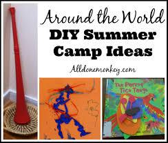 around the world summer c ideas