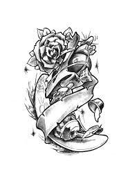 new school tattoo drawings black and white new skool tattoo drawings new school tattoo gun by mes74 tattoo