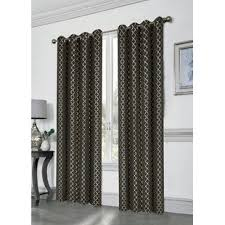 Gold And White Curtains Metallic Gold Curtains Wayfair