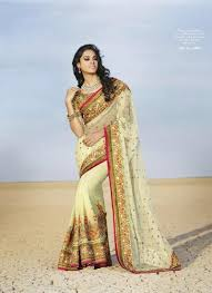 light pista contrast colour nice combination embroidery work