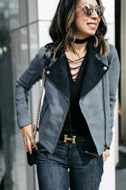 moto style jacket style of sam chic at every age lilla p moto jacket