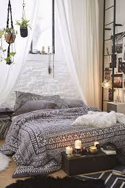 excellent bohemian bedroom white hippie modern white curtains