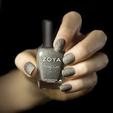 check out zoya u0027s new invention matte glitter nail polish so cool