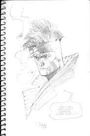 sketch of gambit from the x men image picture display official