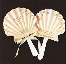Hand Fan Wedding Programs 11 Wedding Ceremony Programs That Double As Fans Mywedding