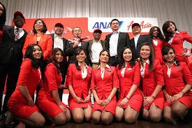 airasia uniform female flight attendants terrify passengers on airasia flight
