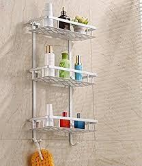 d oucher un ier de cuisine hensych panier de de salle de bain avec étagère de rangement