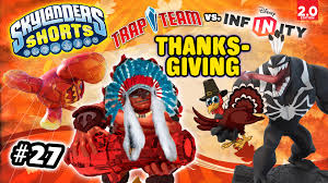 thanksgiving disney pictures skylanders shorts episode 27 disney infinity invades