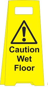 Wet Floor Images by Caution Wet Floor Floor Standing Sign