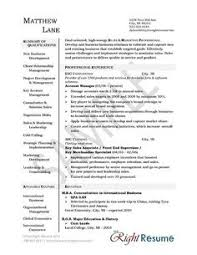 account manager resume exles sales account manager resume exle sle resume resume