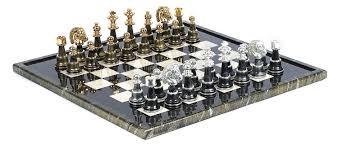 decorative chess set decoration beautiful high gloss marble decorative chess sets and