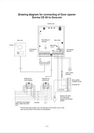 garage door opener wire diagram wiring diagrams