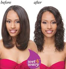 wet and wavy human hair weave hairstyles janet collection indian remi wet wavy human hair weave ripple