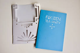 Frozen Invitation Cards Aesthetic Nest Craft Frozen Birthday Party Invitation Free