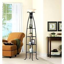 Replacement Glass Shelves by Etagere Floor Lamp Distressed Ironbeige Shade Mainstays Etagere