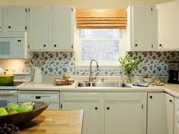 Interior  Easy DIY Kitchen Backsplash With Vinyl Tablecloth Ideas - Vinyl kitchen backsplash