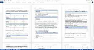 Sample Project Summary Template Project Summary Document Template by Software Development Lifecycle Templates Ms Word Excel U0026 Visio