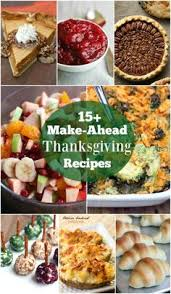 up of delicious thanksgiving recipes holidays