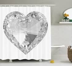 popular giant diamond buy cheap giant diamond lots from china big giant diamonds print heart rock eternal love romance crystal home design artwork polyester fabric