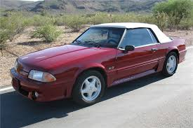 ford mustang gt 1992 1992 ford mustang gt convertible 81214