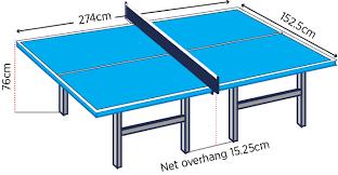 ping pong table playing area stunning dimensions table ping pong gallery joshkrajcik us