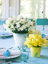 35 easy and simple easter and spring centerpiece ideas saturday