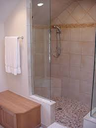 No Shower Door Awesome Design Ideas For Walk In Showers Without Doors