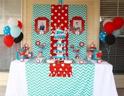 dr seuss party decorations dr seuss party ideas for a girl birthday catch my party