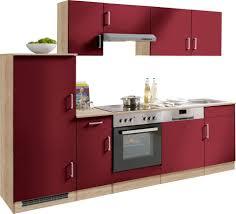 Kueche Kaufen Mit Elektrogeraeten Küchenzeile Held Möbel Melbourne Breite 270 Cm Mit E Geräten