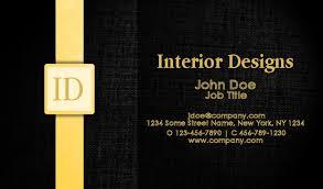 Catering Calling Card Design Interior Design Business Cards