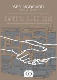springboard 2016 careers guide by qut law society issuu