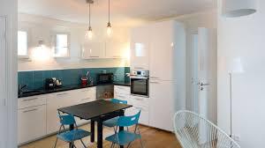 cuisine blanche plan travail bois supérieur cuisine blanche plan travail bois 14 petit appartement