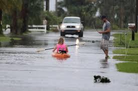 hurricane matthew downs trees floods roads in port orange news