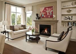 How To Decorate A Living Room With A Fireplace Fireplace - Traditional living room interior design