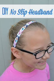 headbands that don t slip diy no slip headbands without answers
