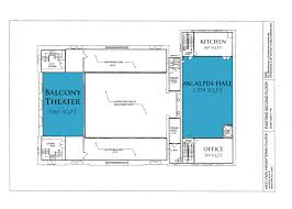 Church Fellowship Hall Floor Plans Rooms U0026 Pricing West Park Presbyterian Church