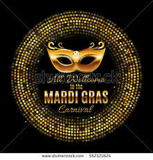 mask party mardi gras party mask poster stock vector 552121624