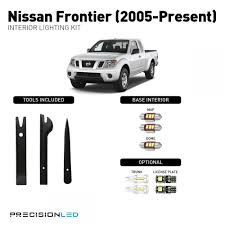 nissan frontier gas light nissan frontier premium led interior lighting package 2015 2014