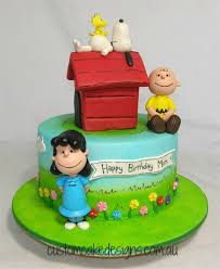 snoopy cakes peanuts snoopy and friends cake cakecentral
