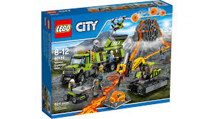 lego honda element 60124 volcano exploration base lego city products and sets