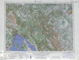 Zagreb Map Western Europe Ams Topographic Maps Perry Castañeda Map