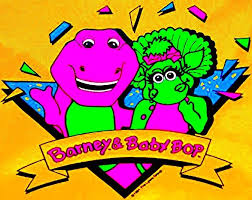 Barney Backyard Show 1991 Barney And Baby Bop Logo By Bestbarneyfan On Deviantart