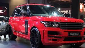 range rover pickup truck shanghai 2015 startech range rover pickup youtube