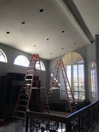 installing can lights in ceiling az recessed lighting installation family living room kitchen