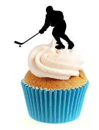 hockey cake toppers career sprinkles and toppers ltd