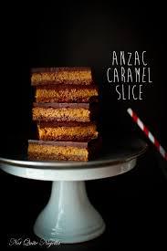 anzac biscuit aramel slice not quite nigella